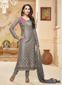 Adorable georgette churidar suit