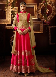 Adorable Georgette Anarkali Lehenga