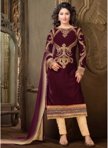 Alluring Churidar Suit