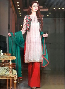 Alluring Georgette Embroidered Salwar suit