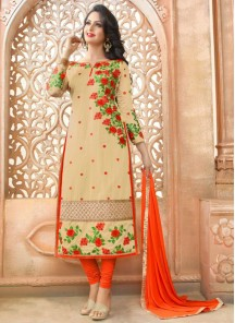 Amazing  Chanderi Salwar suit