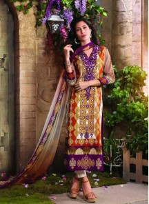 Amazing printed  Cotton  Print churidar suit
