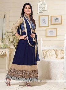 Amusing Georgette embroidered Work Designer Suit