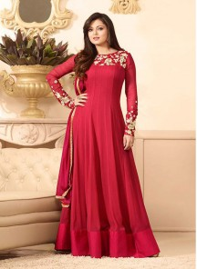 Flattering Embroidered Work Designer Suit