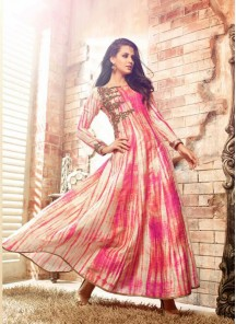 Attractive banarasi Anarkali Suit
