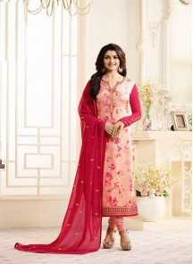 Attractive Brasso Printed Salwar Suit