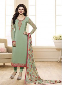 Attractive Churidar Suit