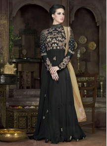 Attractive  Georgette Anarkali Suit