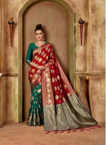 Banarasi Silk Traditional Designer Saree