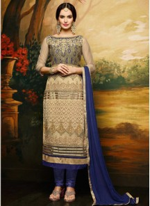 Fab Banglori Silk Churidar Suit