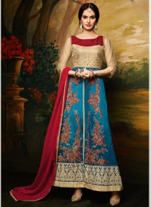 Banglori Silk Churidar Suit