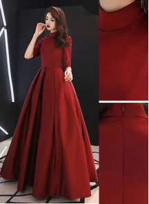 Beautiful Designer Wear Tapeta Silk Long Readymade Gown