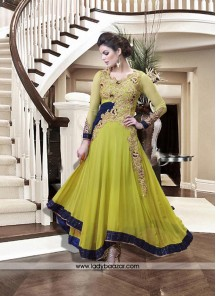 Blissful Georgette Anarkali Salwar Kameez