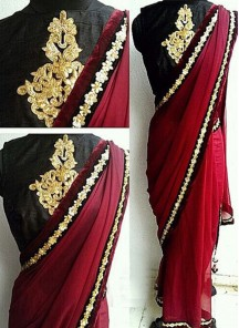 Glorious georgette Casual Saree