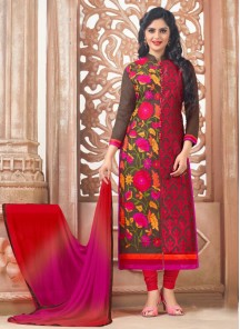 Gorgeous Chanderi Salwar suit