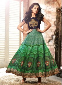 Charming embroidered work Anarkali Suit