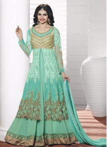 Charming Georgette Embroidered Anarkali Suit
