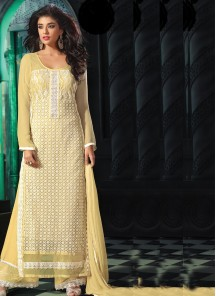 Charming  Georgette Palazzo Suit