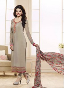 desirable  crepe churidar suit