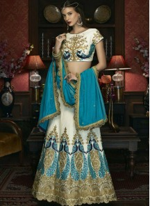 Digital Print Multi Colour Designer Wear Floor Length Anarkali Lahenga Choli.