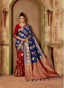 Elite Fancy Banarasi Silk Traditional Saree