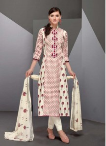 Enticing Satin Multi Colour Designer Straight Suit