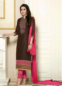 karishma kapoor cambric straight suit