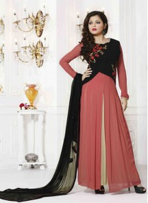 Voluptuous Georgette  Churidar Designer Suit