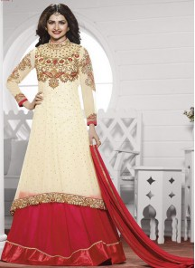 Gratifying Georgette Anarkali Suit