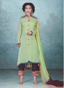 attractive Georgette Salwar suit