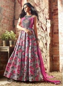 Glorious  Banarasi Anarkali Suit