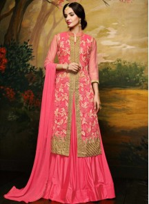 Glorious Banglori Silk Embroidered Anarkali Suit