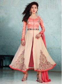 Glorious  Georgette Straight Suit