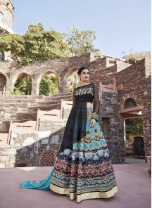 Gratifying Georgette Lehenga Style Gown