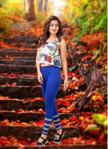 Groovy Multi Color Printed Cotton Western Wear