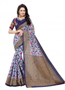 Imperial  Bhagalpuri Silk Casual Saree