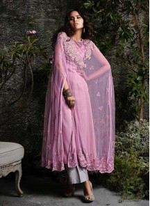 Imperial Embroidered Designer Palazzo Suit
