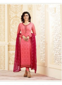 Magnetize Georgette Embroidery Work Salwar Suit