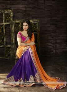 Magnificent Embroidered Work Designer Saree