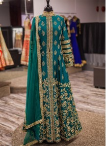 Marvelous  Embroidered Work Designer Suit