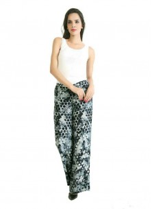 Observable Multi Color Reyon Printed Palazzo For Women