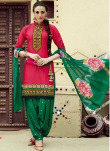 cotton Patiala Suit for casual