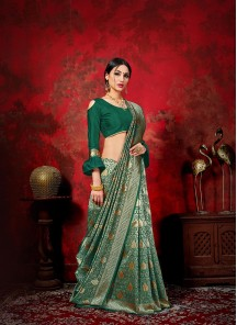 Pleasance Banarasi Silk Weaving Traditional Designer Saree