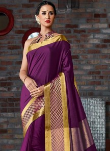 Pretty Cotton Silk Printed Casual Saree