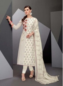 Regal Multi Straight Salwar Kameez