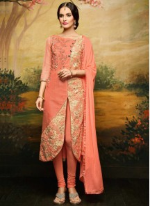 Gorgeous  Banglori Silk Churidar Suit