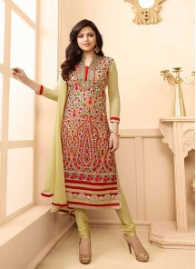 Remarkable  Georgette Anarkali Suit