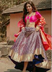 Sorcerous Digital Print Multi Lehenga Choli