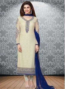 Dazzling georgette Straight Suit