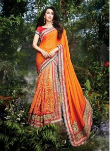 Tempting Designer Saree For Wedding